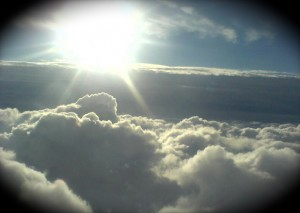 I want to live above the clouds.